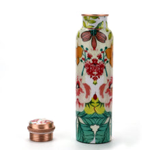 Load image into Gallery viewer, Flower Copper Bottle (1L)