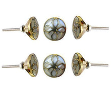Load image into Gallery viewer, Set Of Four Brass MOP Knob - Perilla Home