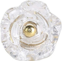 Carregar imagem no visualizador da galeria, Set Of Six Transparent Rose Glass  Knobs - Perilla Home
