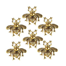 Charger l'image dans la galerie, Set of 6 Brass Bee Knob - Perilla Home