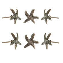 Carregar imagem no visualizador da galeria, Set of 6 Starfish Knob - Perilla Home