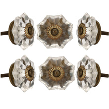 Load image into Gallery viewer, Set Of Six Clear Melon Glass Knobs - Perilla Home