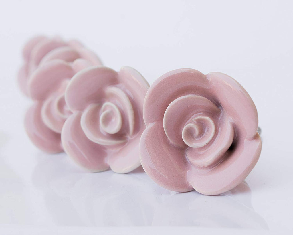 Rose Ceramic Knob - Perilla Home