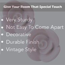 Load image into Gallery viewer, Rose Ceramic Knob - Perilla Home