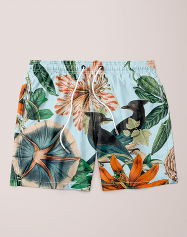 Forest Birds Shorts (Men)