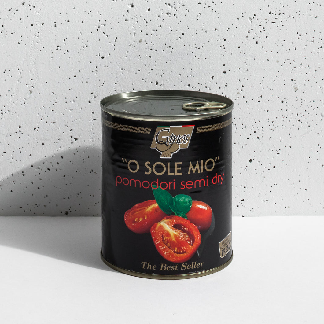 Ginos - O Sole Mio - Semi-Dry Tomatoes with Basil