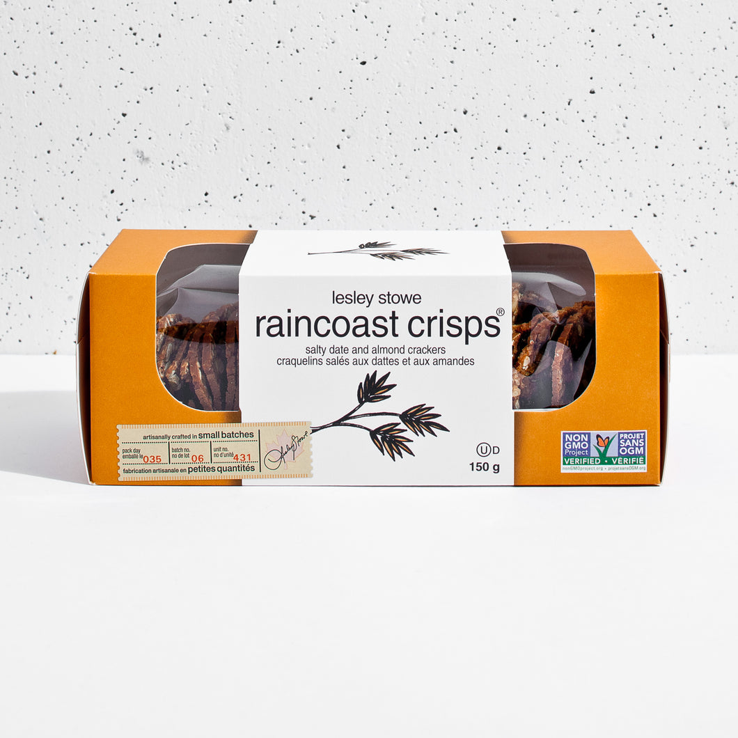 Raincoast Crisps - Salty Date & Almond