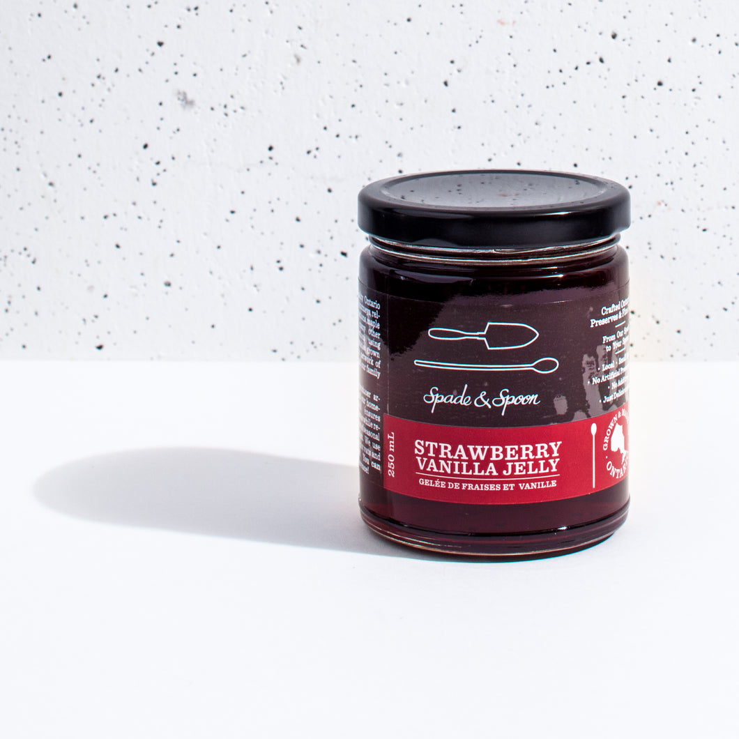 Spade & Spoon - Strawberry Vanilla Jelly