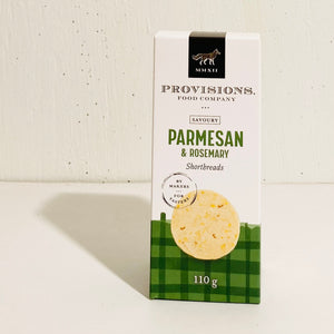 Provisions Food Company - Parmesan & Rosemary Shortbread