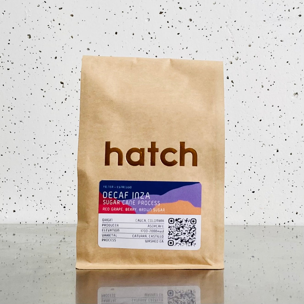 Hatch Coffee - DeCaf Inza