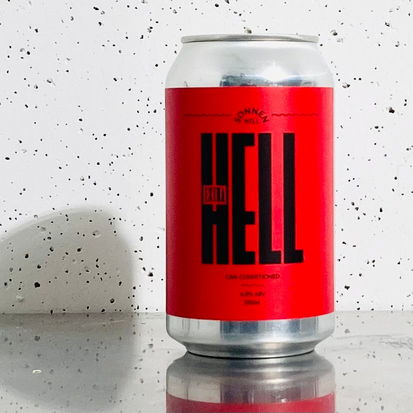 Sonnen Hill - Extra Hell - Can Conditioned Ale