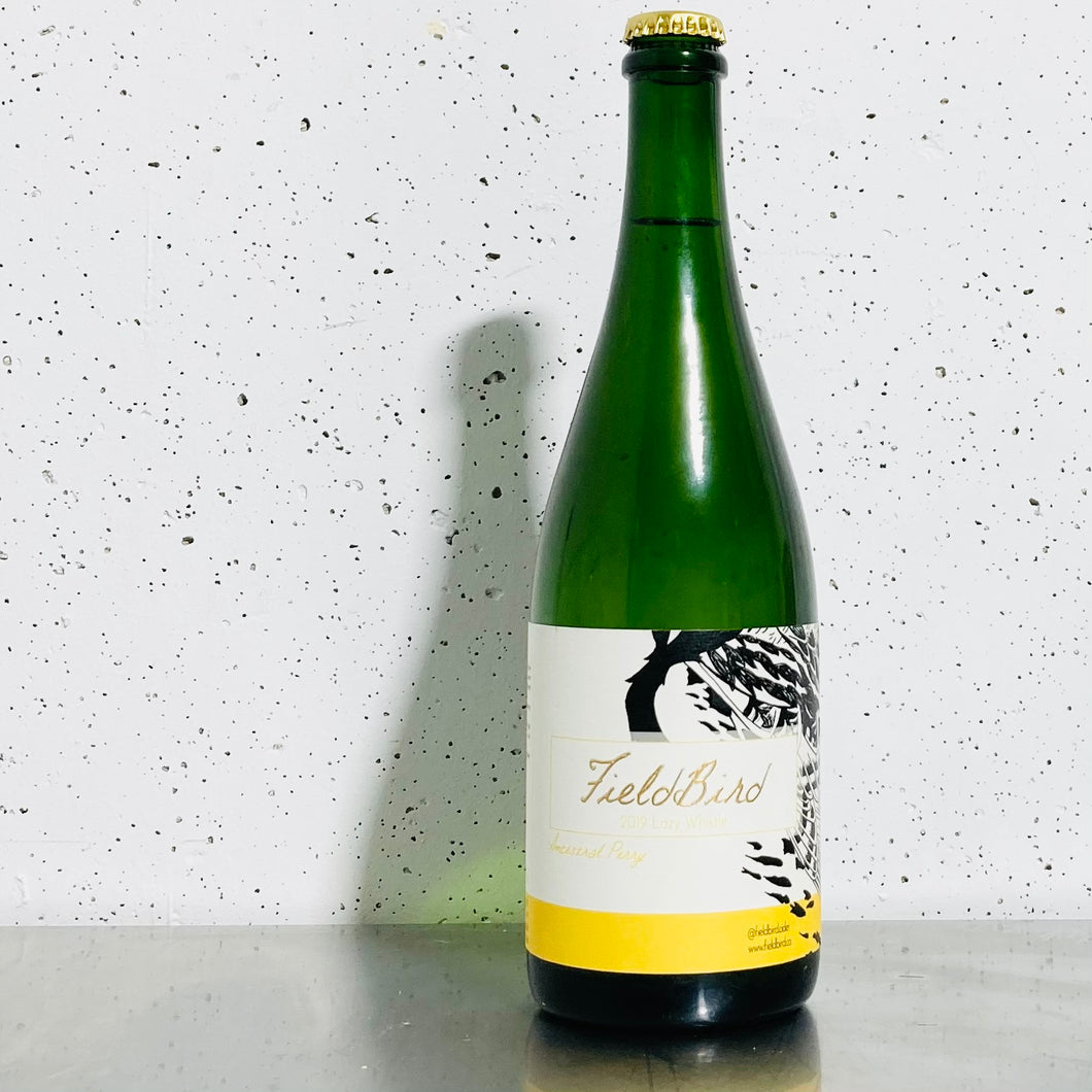 Fieldbird Cider - 2019 Lazy Whistle Ancestral Perry
