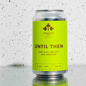 Dominion City - Until Then - Gose w/ Lime Zest & Tamarind