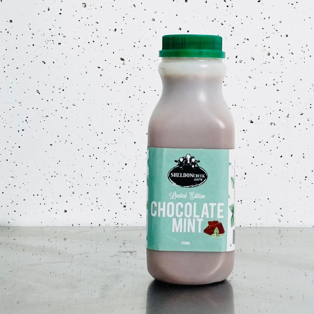 Sheldon Creek Dairy - Mint Chocolate Milk