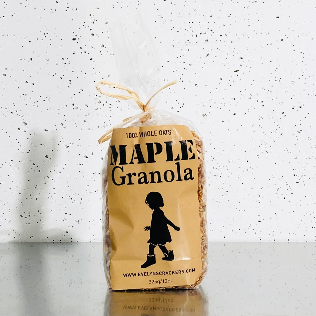 Evelyn's Maple Granola