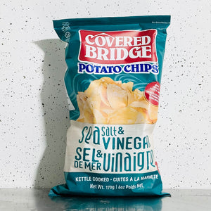 Covered Bridge Potato Chips  - Salt & Vinegar