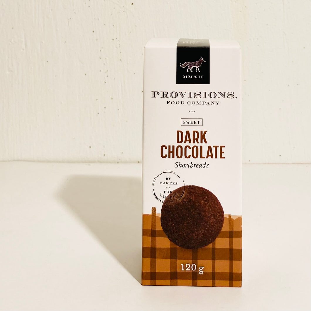 Provisions Food Company - Dark Chocolate Shortbread
