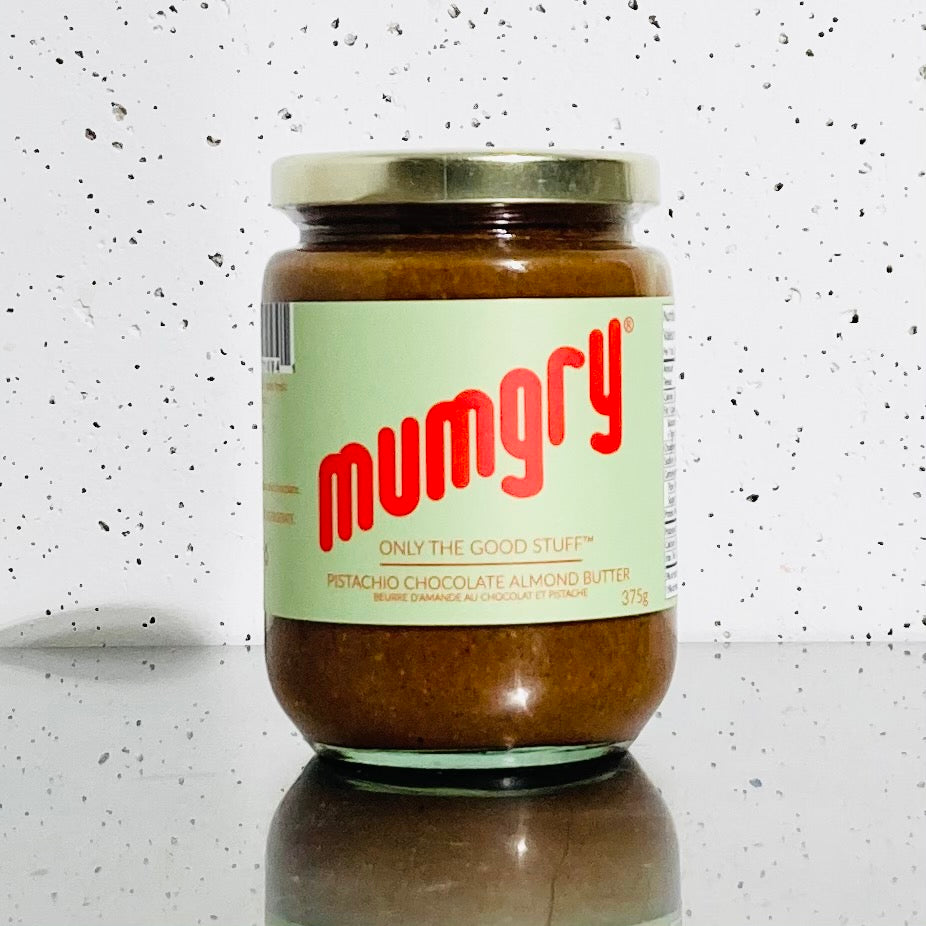 Mumgry - Pistachio Chocolate Almond Butter