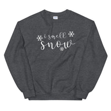 Load image into Gallery viewer, I Smell Snow | Gilmore Girls Unisex Sweatshirt