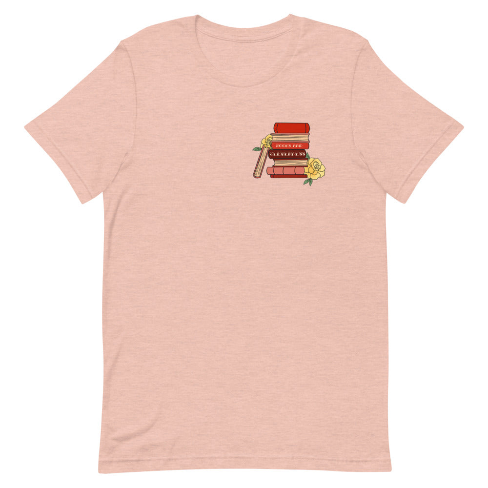 Books & Cleverness Short-Sleeve Unisex T-Shirt