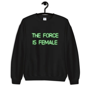 Femme Force (GREEN) Unisex Sweatshirt