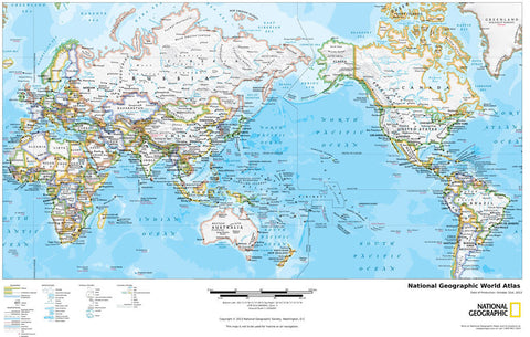 All maps elstead maps national geographic world atlas by national geographic gumiabroncs Images