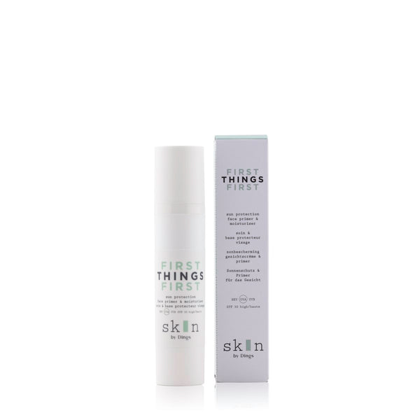 FIRST THINGS FIRST face primer & moisturiser | SPF 30 - Purelien