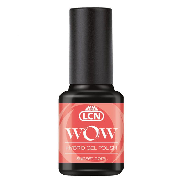 WOW Hybrid Gel Polish Sunset Coral 8ml - Purelien
