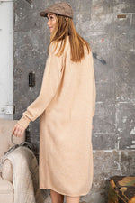 Camel Sweater Maxi