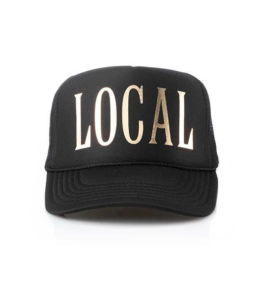 Local Trucker Hat Black