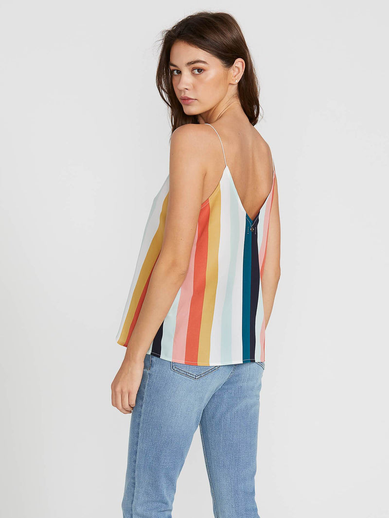 Flavor Up Stripe Cami