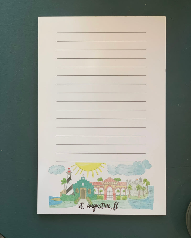 St. Augustine Notepad