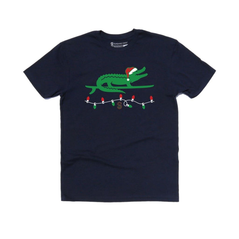 Christmas Gator Top- KIDS