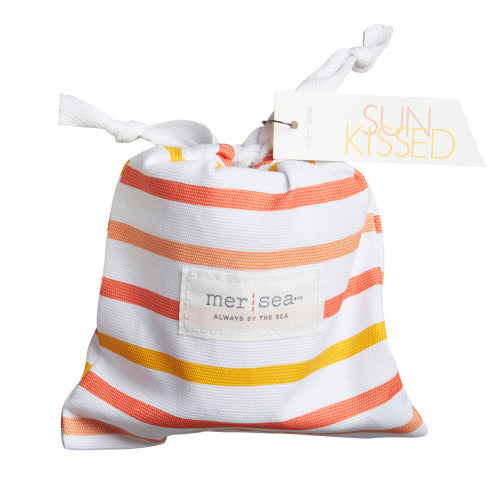 Striped Sandbag Candle