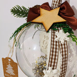 Handmade Christmas Bauble Ornament Home Sweet Home