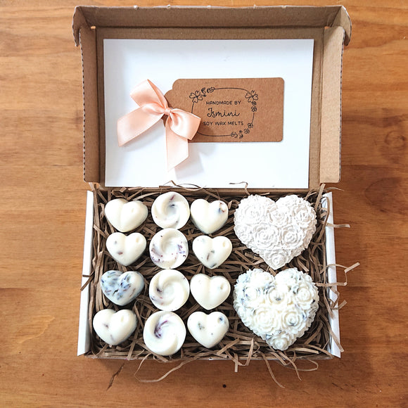 Highly scented wax melts gift box, natural soy wax, lavender,aromatherapy