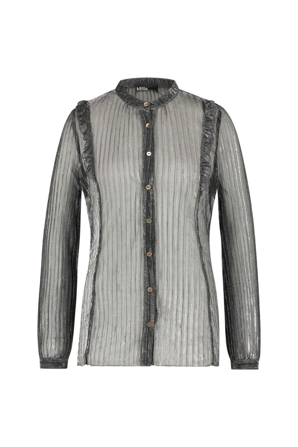 Brandon Blouse - Silver