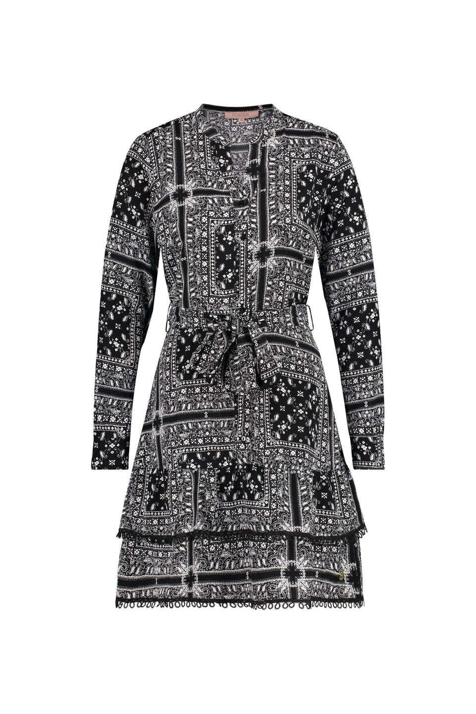 Dena Dress - Paisley Print