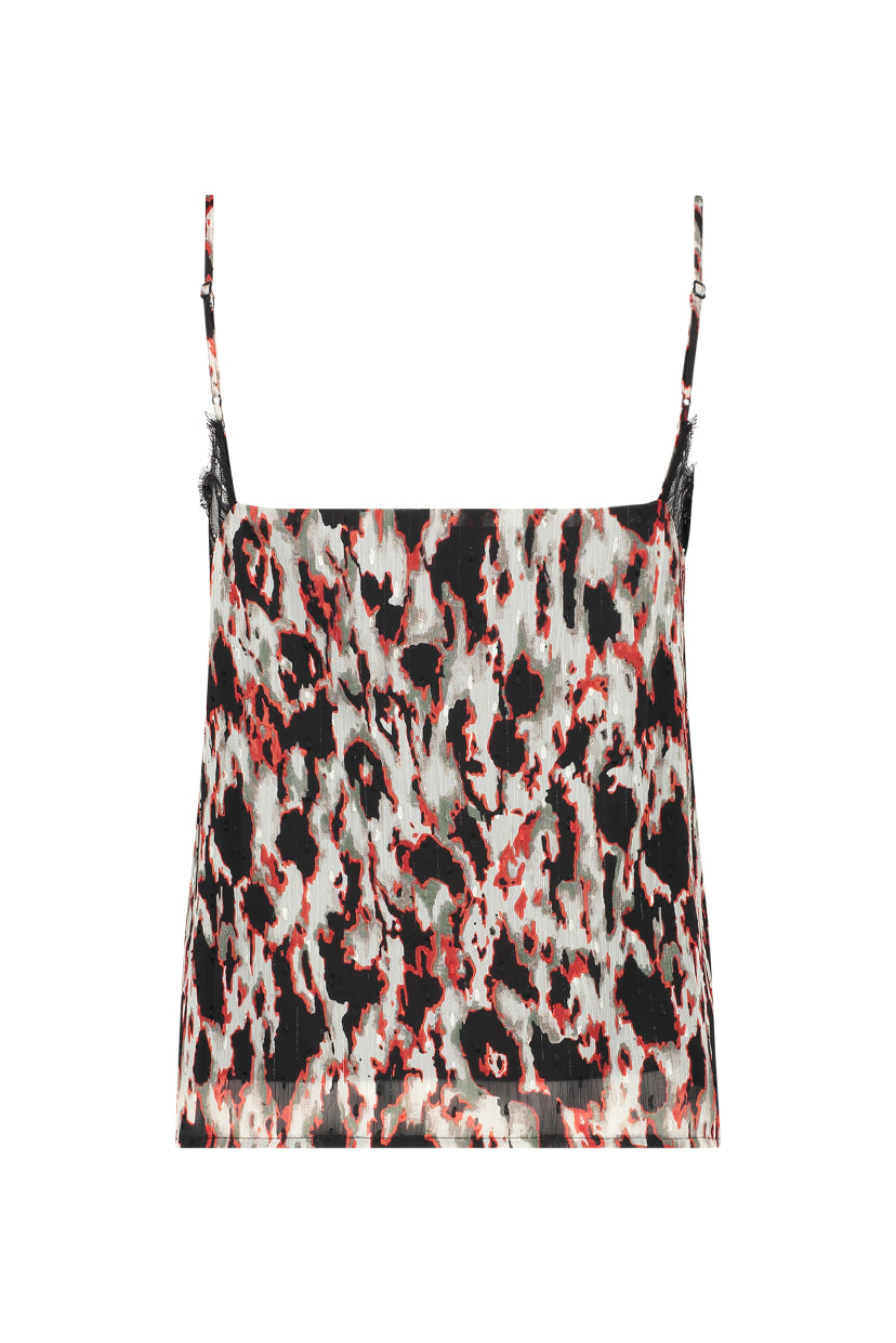 Bonnie Singlet - Animal Print