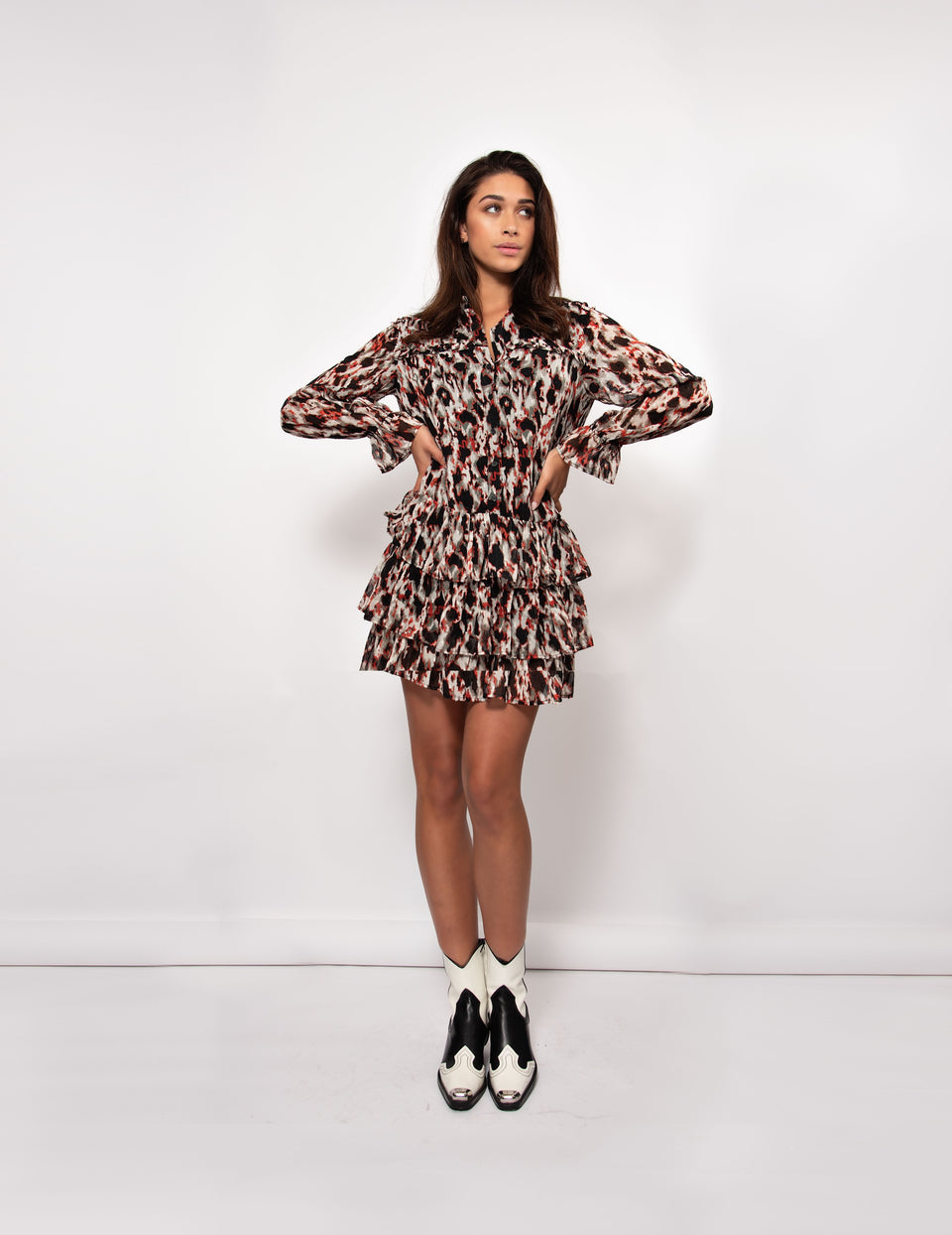 Daisy Dress - Animal Print