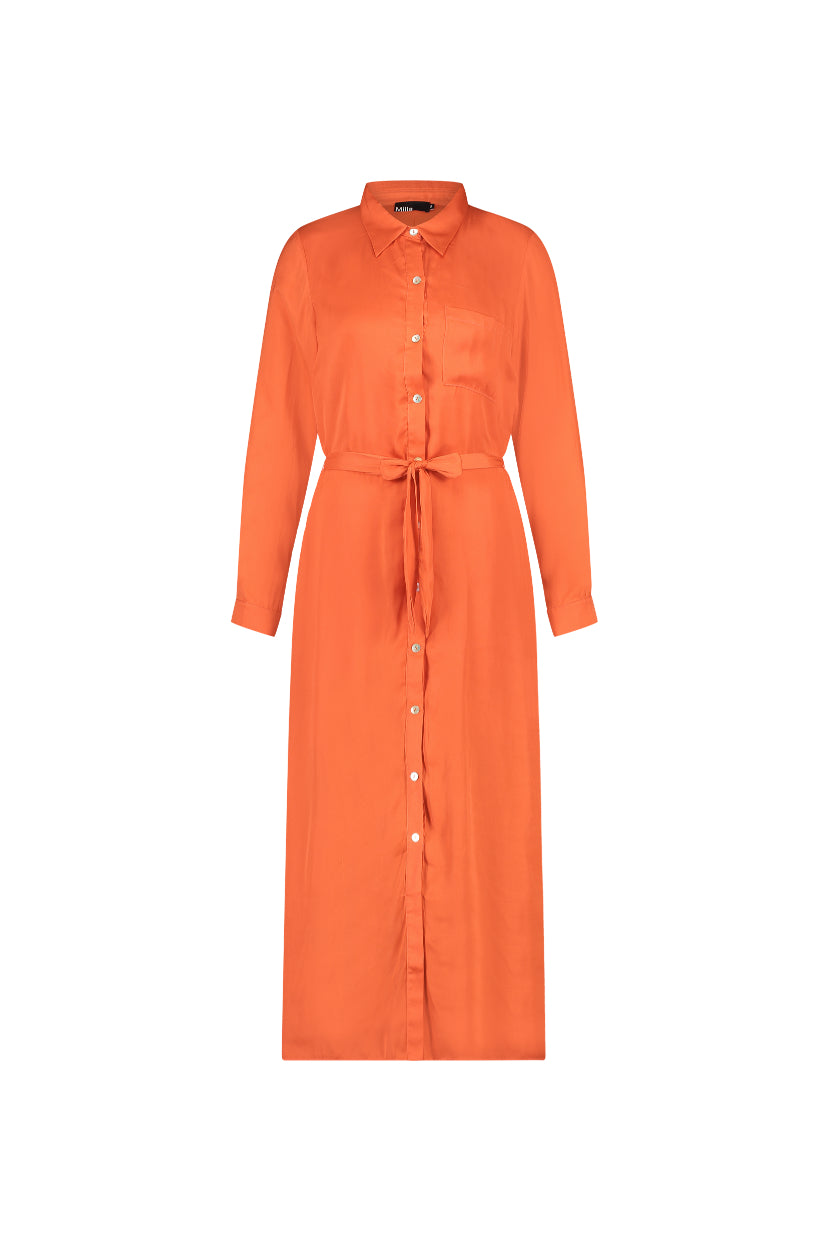 Della Dress - Spicy Orange