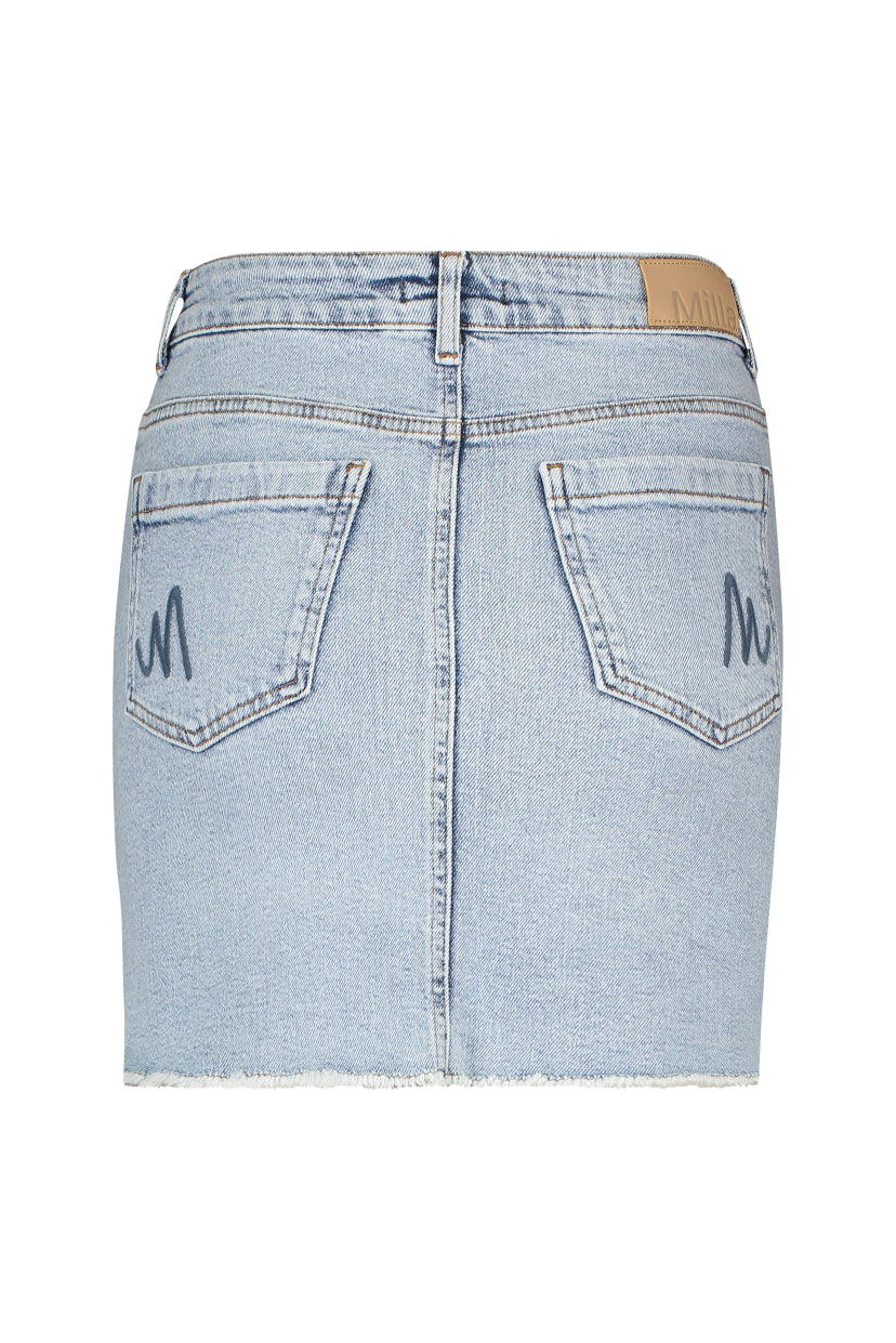 Reese Skirt - Jeans Blue