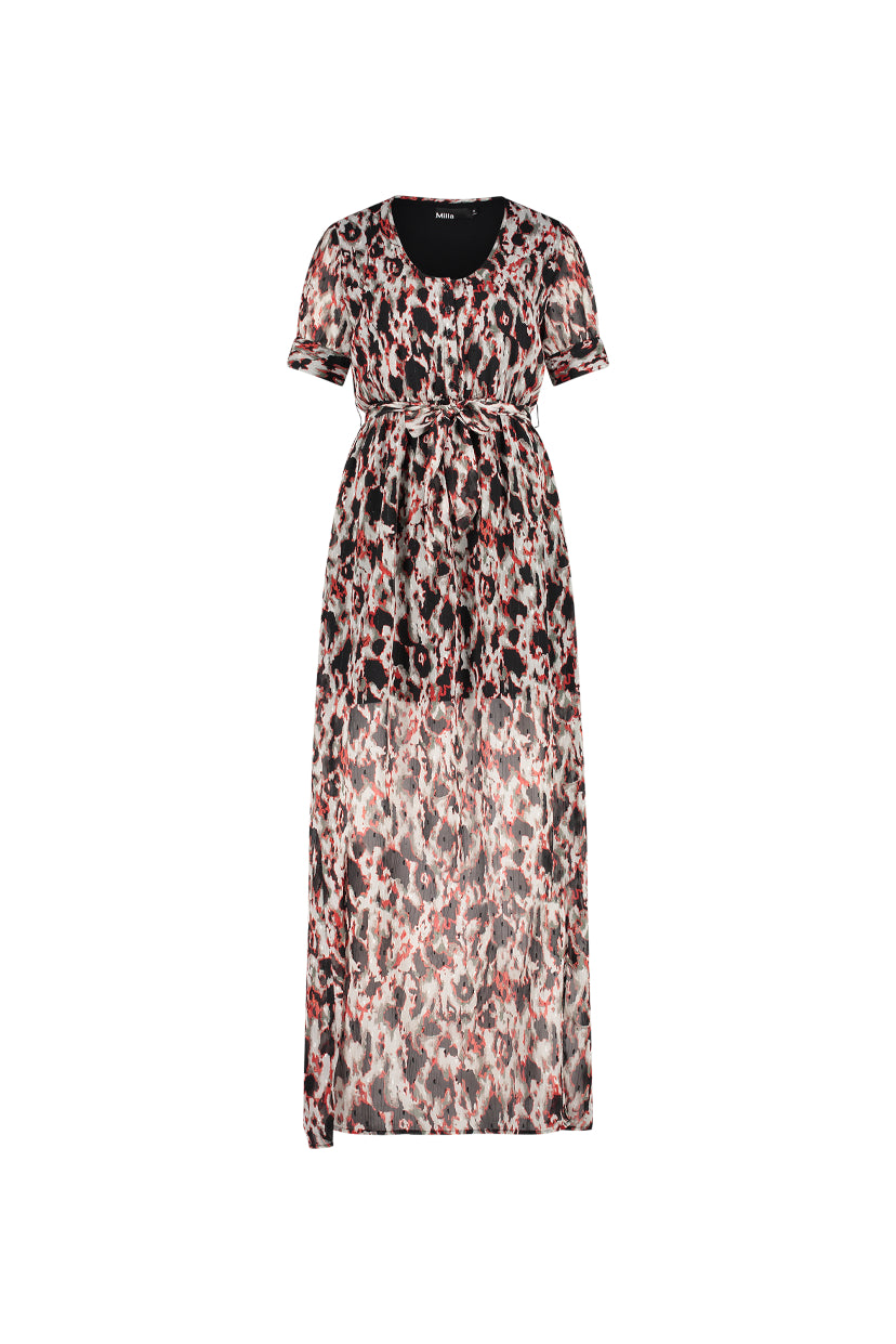 Darla Dress - Animal Print
