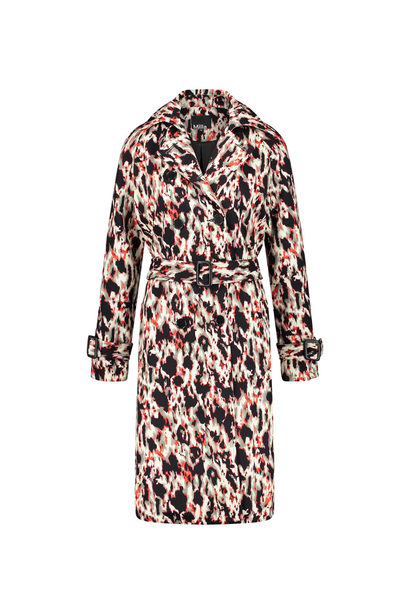 Jackie Coat - Animal Print