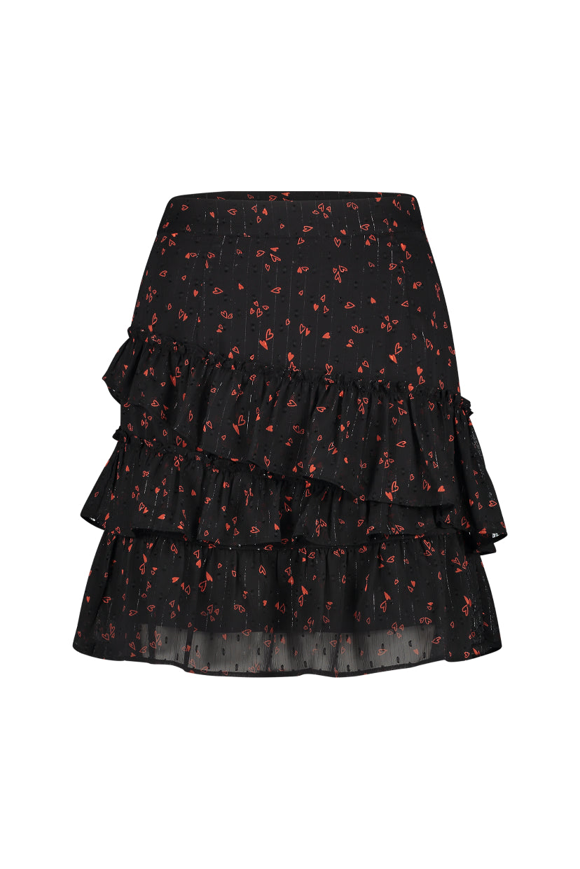 Robbie Skirt - Love Print