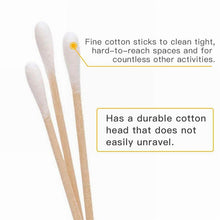 Load image into Gallery viewer, Cotton Swab - 15cm Handle - Single-Head Q-Tips w/ Break Point - Sterile