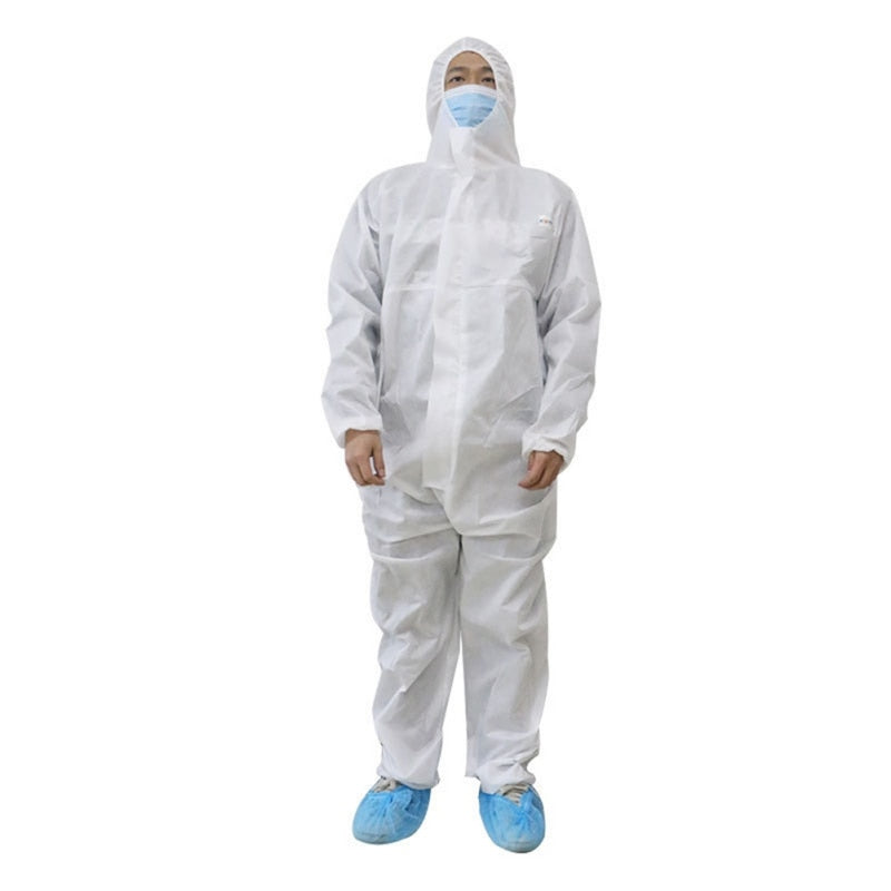 One-piece Isolation Gown Protective Clothing Suit