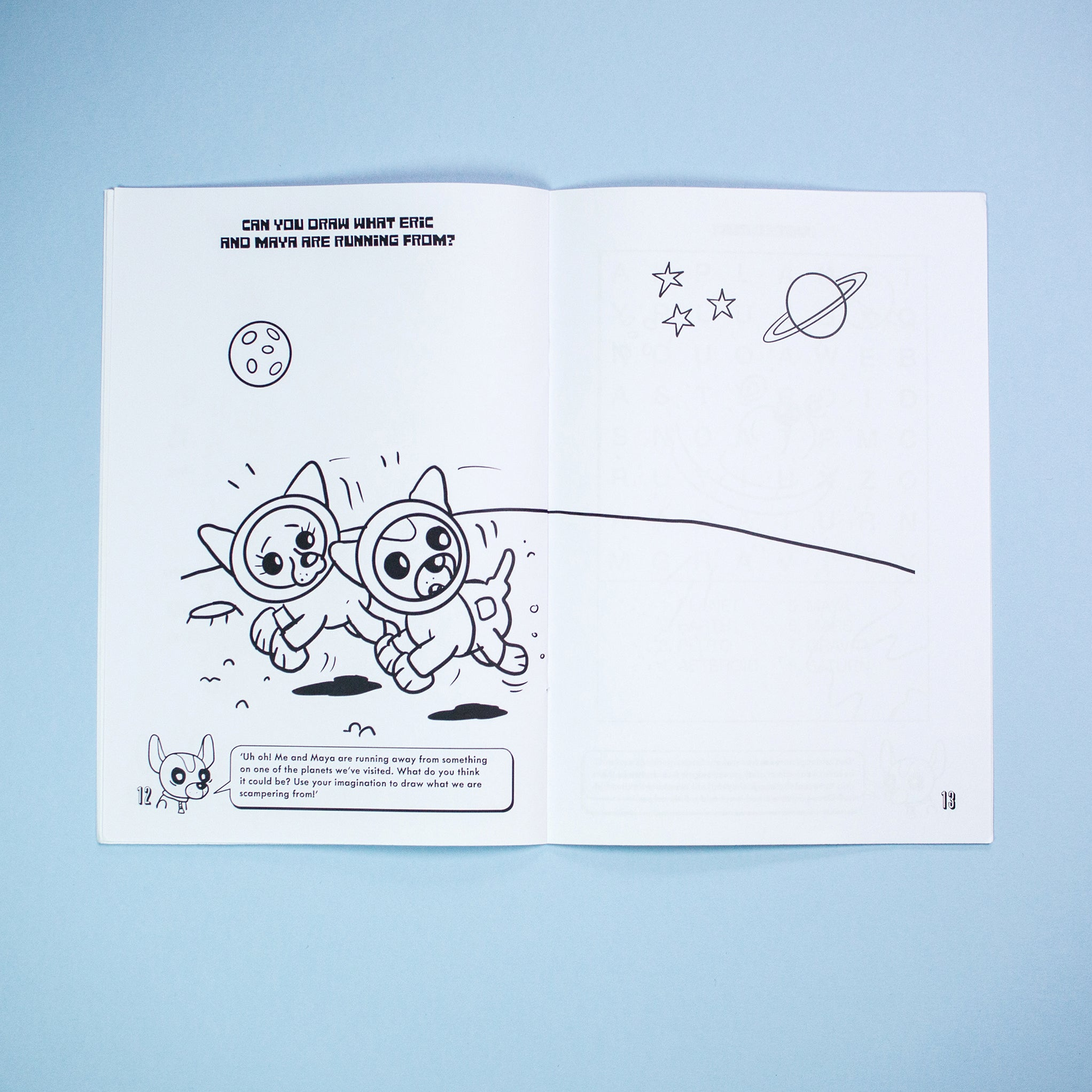 Eric In Space Activity Book