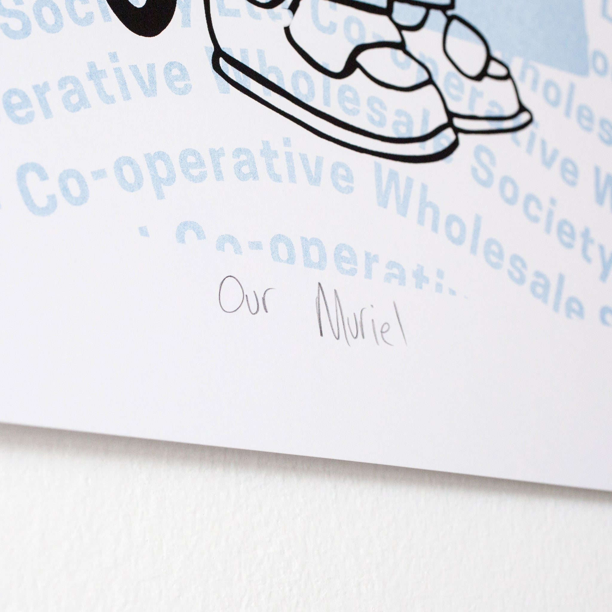 Our Muriel - Limited Edition Print