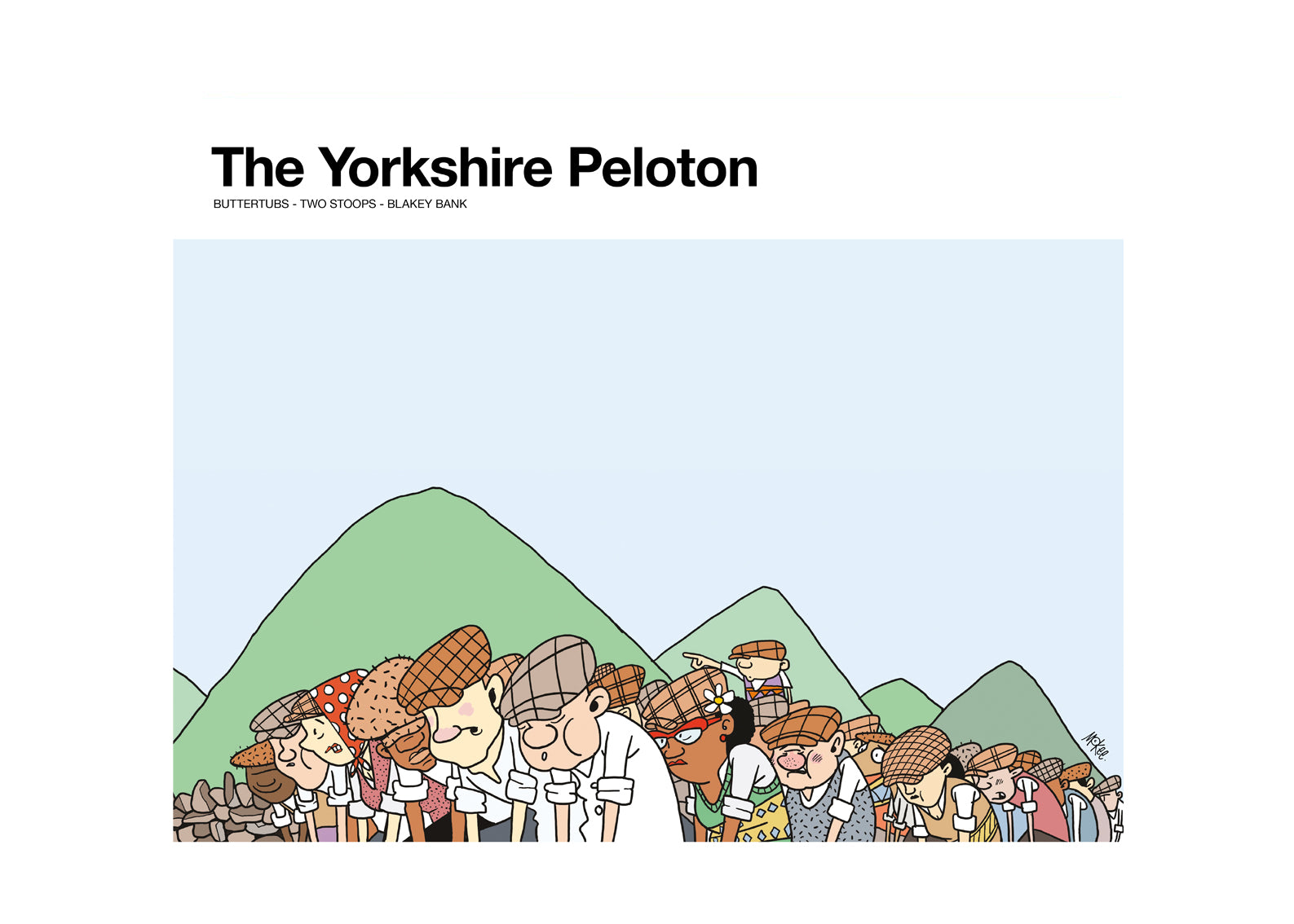 The Yorkshire Peloton